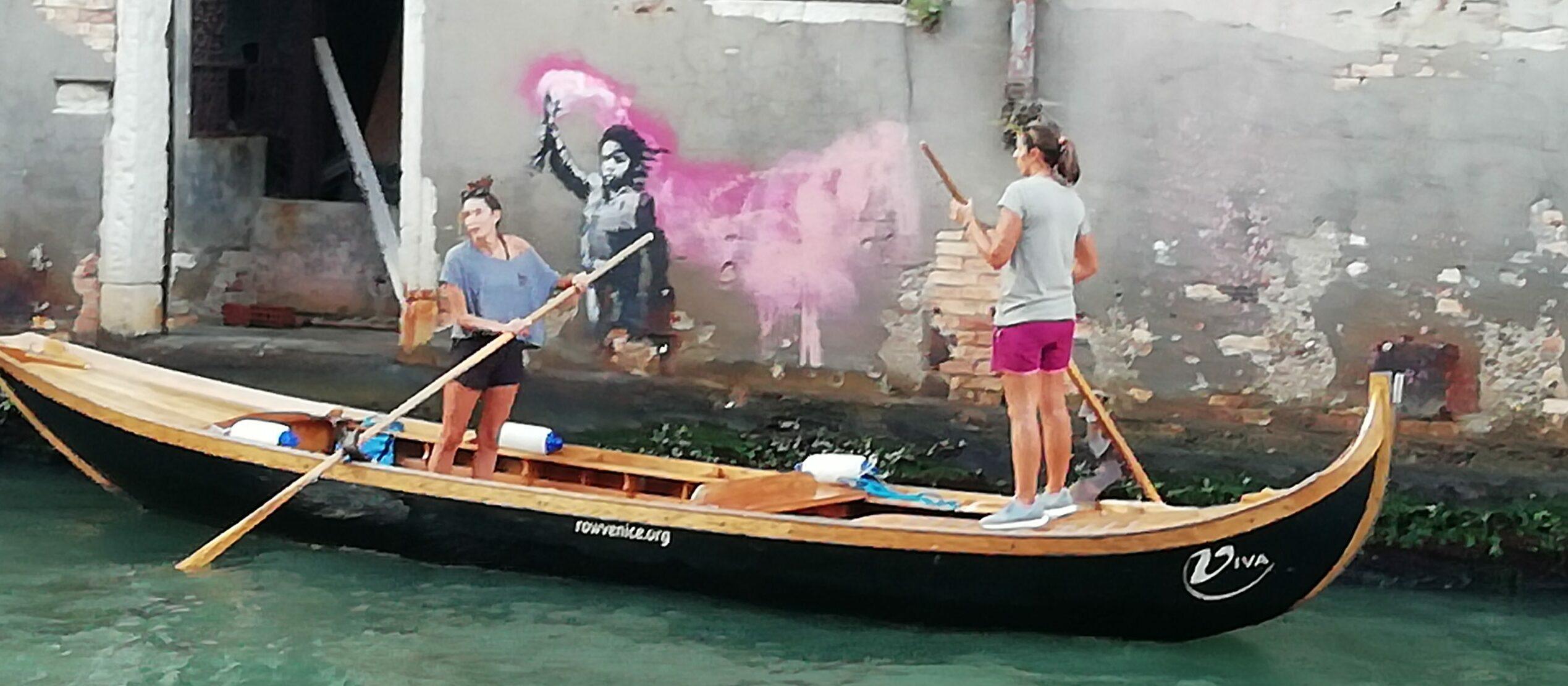 Un tourisme durable pour Venise à travers l'Art Urbain de Banksy