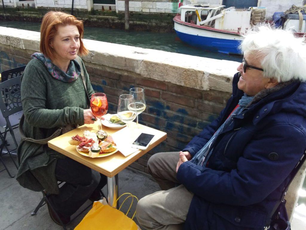 Parcours éno-gastronomique à Venise spritz et tapas à Venise