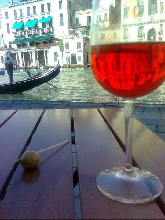 spritz en gondole à Venise