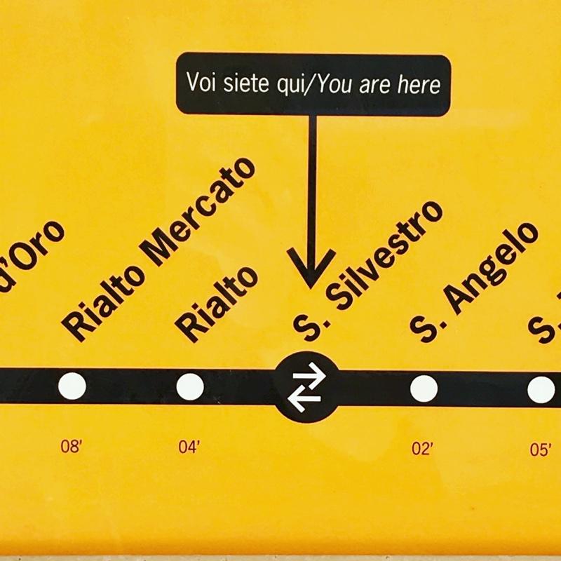 Informations pratiques sur Venise : arrêts des bateaux